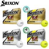 【2015年モデル】 ダンロップ スリクソン Z-STAR 4 シリーズ ゴルフボール 1ダース(12個入)【Z-STAR 4、Z-STAR XV 4】[DUNLOP SRIXONZ-STAR 4 SERIES GOLF BALL] USモデル