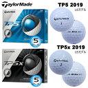 テーラーメイド 2019年 TP5 シリーズ 5ピース ゴルフボール 1ダース(12個入) [TaylorMade 2019 TP5 SERIES 5-PIECE GOLF BALL] USモデル・・・