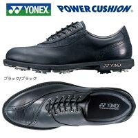 ヨネックスパワークッションゴルフシューズSHG-002(ブラック/ブラック)[YONEXPOWERCUSHIONGOLFSHOESSHG002]