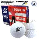 ブリヂストン TOUR B XS 3ピース (ウレタンカバー) ゴルフボール 1ダース (タイガー・ウッズ パッケージ/12個入) [BRIDGESTONE TOUR B XS (Tiger Woods package) 3-PIECE (Urethane Cover) GOLF BALL] USモデル