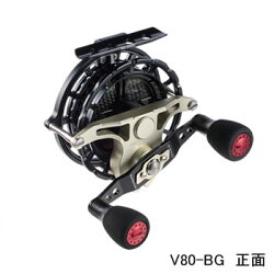 [黒鯛工房]黒鯛工房カセ筏師ディープフォースV80-BG左