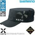 シマノ XEFO ゴアテックス オールウェザー ワークキャップ ブラック CA-219Q フリー (フィッシングキャップ 帽子)