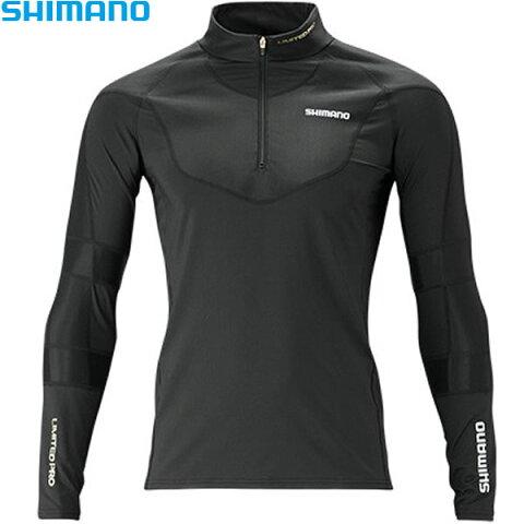 シマノ エキスパートインナーシャツリミテッドプロ ブラック 2XL IN-081S (冷感肌着 クールインナー)