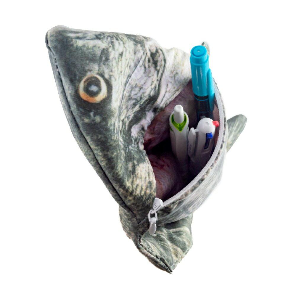 オルルド釣具 魚型 小物入れ ポーチ ペンケース クロダイ 黒鯛 チヌ