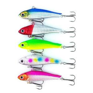 【2月4日New】オルルド釣具釣り具ルアーバイブレーション超遠投モデル爆釣カラースペシャル9cm40g