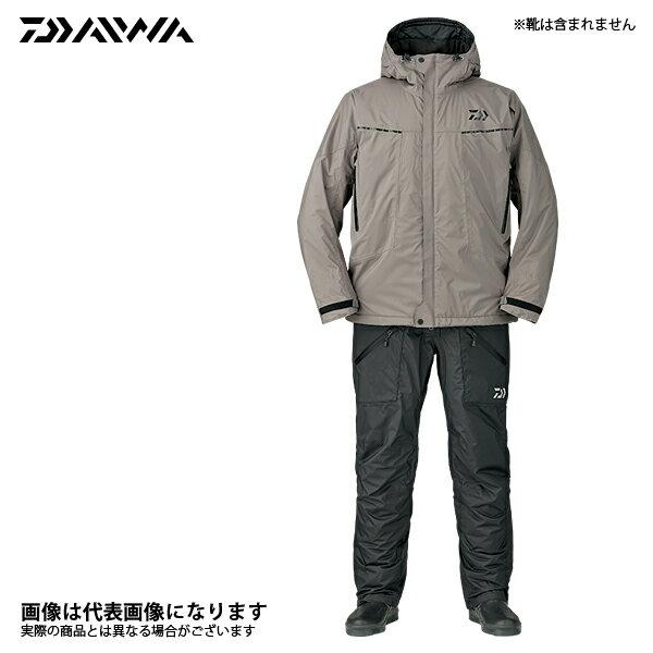 DW-3207 レインマックス エクストラハイロフト ウィンタースーツ グレー 4XL ダイワ 釣り 防寒着 2017秋冬モデル 防寒ウェア新モデルが30%オフ!