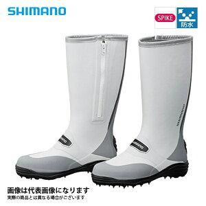 【シマノ】FB-001Q スパイクブーツ グレー L