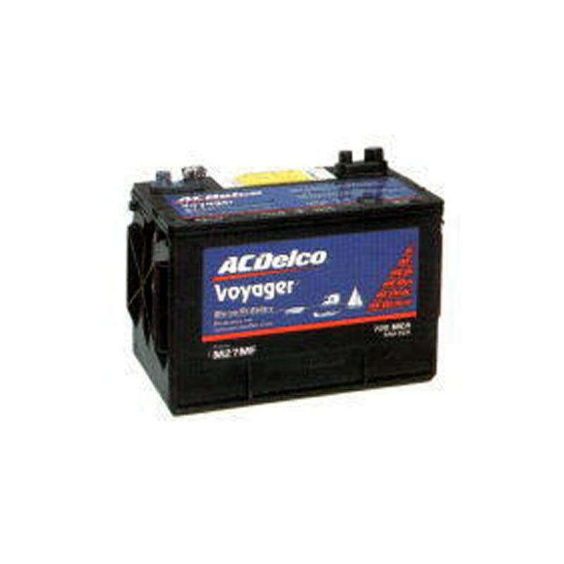 【岡田商事】ACデルコ ボイジャー バッテリー 105A M27MF