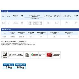 送料無料!【シマノ】15フォースマスター3000(PE3号×400m)
