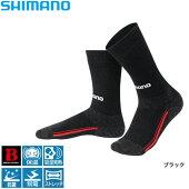 【シマノ】ブレスハイパー+℃・ソックスSC−022NブラックF