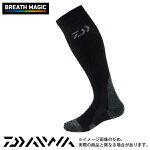 【ダイワ】DS-3003Rブレスマジック3DホールドソックスII先丸・ロング丈ブラック/フリー【0824楽天カード分割】