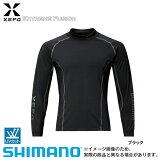 【シマノ】ゼフォー[XEFO]サンプロテクトラッシュガード[IN-290P]ブラックXL