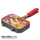 【パール金属】おやつDEっSE ふっ素加工ツインホットサンドトースター(D-421)