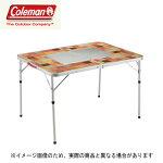 ★送料無料★【コールマン】ナチュラルモザイクBBQテーブル/110プラス(2000026760)