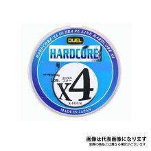 【デュエル】ハードコアX4200m0.4号5色