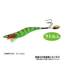 【ハリミツ】蛸墨族デカ針VE-6740gMEミドリエビ