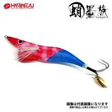 蛸墨族オリジナルカラー35gラスタマックスハリミツタコエギタコ餌木タコ仕掛けタコの船釣りに最適