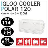 igloo(イグロー/イグルー) クーラーボックス ポーラー 120QT(114L) 【送料無料】