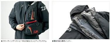 【半額50%OFF】ダイワ(Daiwa)ゴアテックスプロダクツコンビアップレインスーツDR-1504ブラック