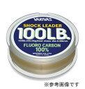 【メール便可】バリバス ショックリーダー フロロカーボン 30m(12lb/3号)