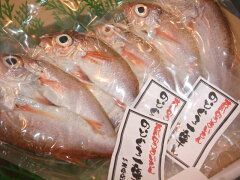 日本海の絶品高級魚。白身のとろと言われるのど黒を当店で天日干し。能登の塩・いしるで仕上げ...