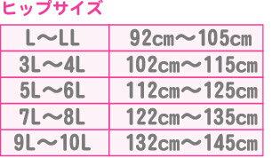 ヒップサイズ表