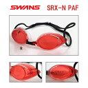 【水泳ゴーグル】【SRX-NPAF-R】SWANS(スワンズ) クッション付きスイムゴーグルSRX(クリアタイプ)【PREMIUM ANTI-FOG】[FINA承認モデル/選手向き/スイミング/レーシング/クッション付き]