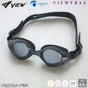 【スイムゴーグル】【女性専用】VIEW ビュー クッション付き スイミングゴーグル クリアタイプ スワイプアンチフォグ VIEWFRAU(ビューフラウ) 水泳 V820SA-PBK