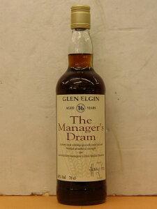 グレンエルギン 16年 マネージャーズ・ドラムGLEN ELGIN 16Years The Manager's Dram