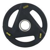オリンピックバーベルプレート(ラバーコーティング)(5kgx1枚入り)【FitElite(フィットエリート)】