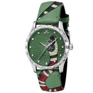 [4-7 мая ★ Очки 5 раз] Gucci GUCCI Watch G-TIMELESS Кожаный ремень M YA1264081 Подарочная упаковка Бесплатная совместимость с Лаки