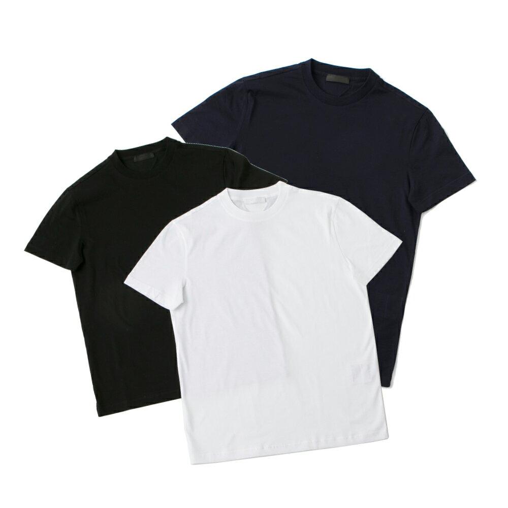 トップス, Tシャツ・カットソー 64-11SALE5 PRADA logo 3 pack T UJM492ILK
