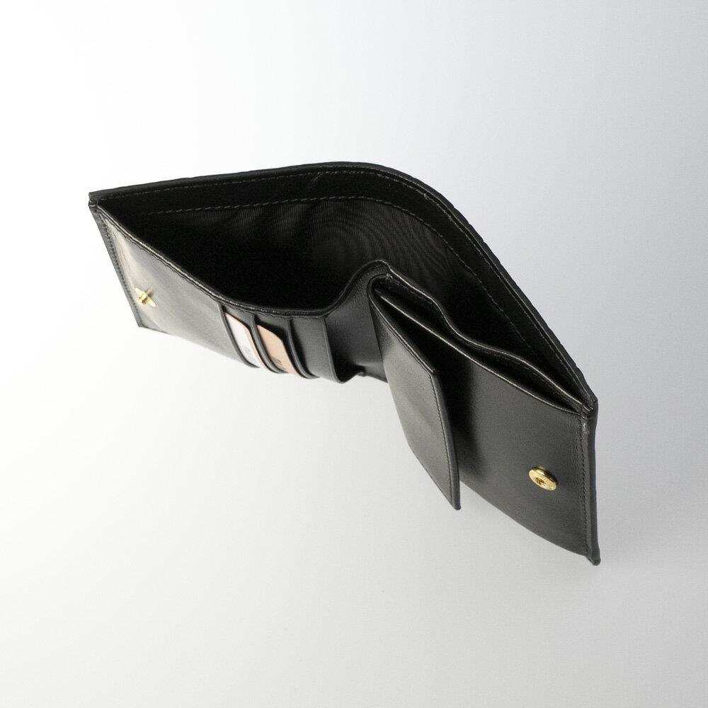 ミュウミュウmiumiuミドルサイフST.COCCO型押折中小銭付/NERO5MV204-2B8Gギフトラッピング無料