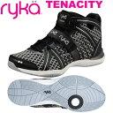 [RYKA]ライカフィットネス TENACITY 〔ブラック/格子柄〕 E1269M-W006(22.0〜26.5cm/