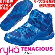 [RYKA]ライカ フィットネスシューズ TENACIOUS<テナシオス> E6643M-3401 〔ブルー〕(22.0〜26.5cm/レディース/メンズ)【ダンスシューズ】【17FW09】【正規品】/送料無料