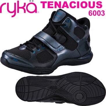 [RYKA]ライカ フィットネス TENACIOUS 〔ブラック〕 E6643M-6003(22.0〜28.0cm/レディース/メンズ)<テナシオス>【ダンスシューズ】【18SS03】【正規品】/送料無料