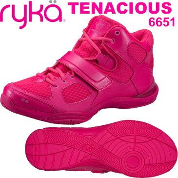 [RYKA]ライカ フィットネス TENACIOUS 〔ピンク〕 E6643M-6651(22.0〜26.5cm/レディース/メンズ)<テナシオス>【ダンスシューズ】【18SS03】【正規品】/送料無料