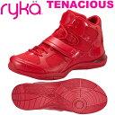 [RYKA]ライカフィットネス TENACIOUS 〔レッド〕 E6643M-J603(22.0〜28.0cm/レディー