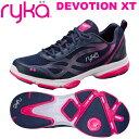 [RYKA]ライカフィットネス DEVOTION XT 〔ネイビー×ピンク〕 F0180M-1400(22.5〜25.0