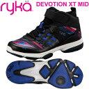 ライカ ディボーション DEVOTION XT MID ブラック/コスモ柄(22.0〜28.0cm/レディース メンズ)【19FW09】 [RYKA] フィットネスシューズ エアロ