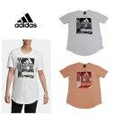 [adidas] アディダス MH グラフィック Tシャツ (レディース/Mサイズ)【1910】【数量限定商品】【当店在庫品】【メール便対応可】
