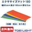 [TOEI] エクササイズマット180(幅60cm×長さ180cm×厚...