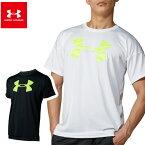 UAテック ショートスリーブ ビッグロゴ シャツ(メンズ)ベースボール UA Tech Short Sleeve Big Logo Shirt 【20SS03】[アンダーアーマー] ※返品・交換不可セール商品※