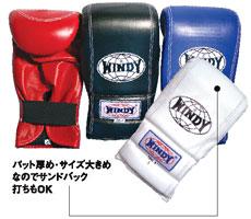 WINDY(ウィンディ)パンチンググローブ TBG-3(シニア)パッド厚め・サイズ大きめ