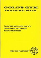 トレーニング法も記載してあるので初心者にもお勧めGOLD'S GYM(ゴールドジム)トレーニングノ...