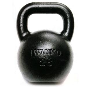【ケトルベルの決定版】KETTLE BELL IVANKO(イヴァンコ)ケトルベル 48kg/1個