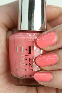 OPI(オーピーアイ)INFINITE SHINE(インフィニット シャイン) IS LN57 Got Myself into a Jam-balaya (Creme)(ゴット マイセルフ イントゥ ジャンバラヤ) opi マニキュア ネイルカラー ネイルポリッシュ セルフネイル 速乾 ピンク ピーチ マット