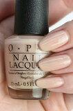 【定形外送料無料】OPI ネイル(オーピーアイ) NL-P61 Samoan Sand(サアモンサンド) opi マニキュア ネイルカラー ネイルポリッシュ セルフネイル 速乾 ベージュ ヌード 乳白色 肌色 マット