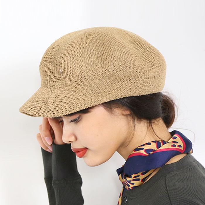 サマーキャスケット◆キャスケット 帽子 涼しい 小物 CAP キャップ レディース ファッション 春夏[2019SS新作][メーカー]