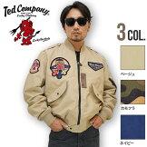 TEDMANテッドマン|フライトジャケットL2TL2-170CAMO/BEIGE/NAVY